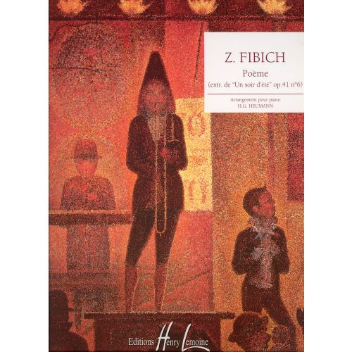 Lemoine Fibich Zdenek Poeme Extrait De Un Soir Dete Op41 N6 Piano