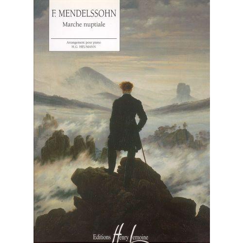 LEMOINE MENDELSSOHN F. - MARCHE NUPTIALE - PIANO