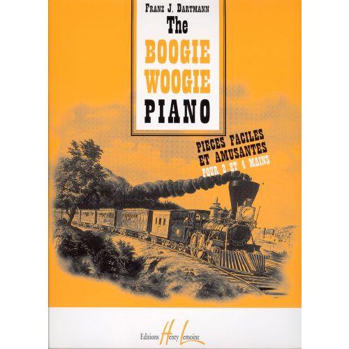 LEMOINE DARTMANN FRANTZ J. - BOOGIE WOOGIE PIANO - PIANO
