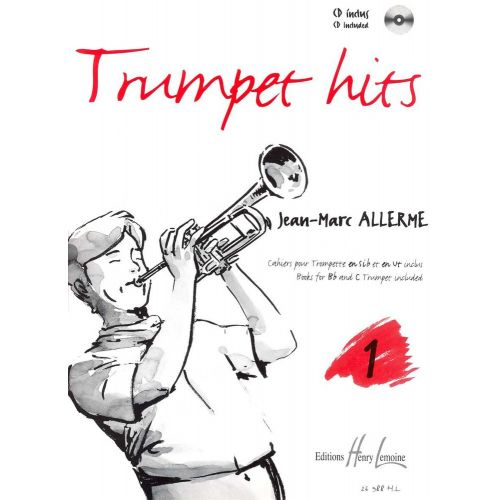 LEMOINE ALLERME JEAN-MARC - TRUMPET HITS VOL.1 + CD - TROMPETTE, PIANO