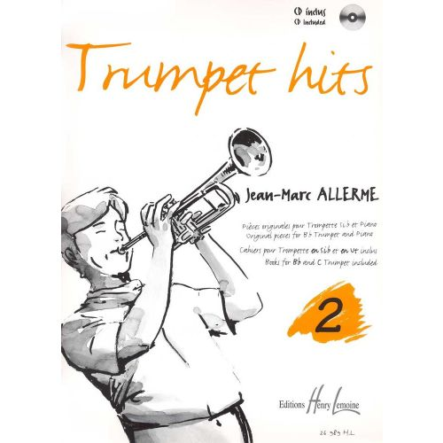 LEMOINE ALLERME JEAN-MARC - TRUMPET HITS VOL.2 + CD - TROMPETTE, PIANO
