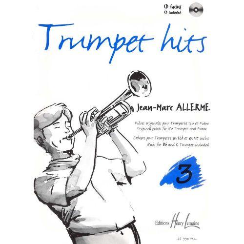 LEMOINE ALLERME JEAN-MARC - TRUMPET HITS VOL.3 + CD - TROMPETTE, PIANO