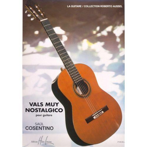 LEMOINE COSENTINO SAUL - VALS MUY NOSTALGICO - GUITARE