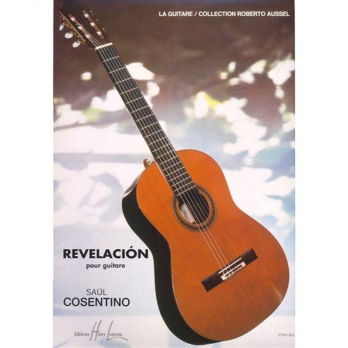 LEMOINE COSENTINO SAUL - REVELACION - GUITARE
