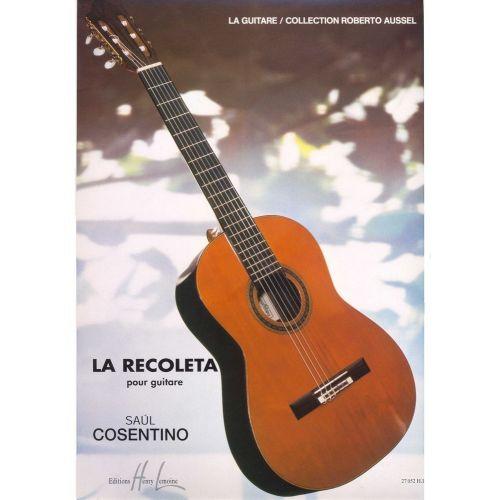 LEMOINE COSENTINO SAUL - RECOLTA (LA) - GUITARE