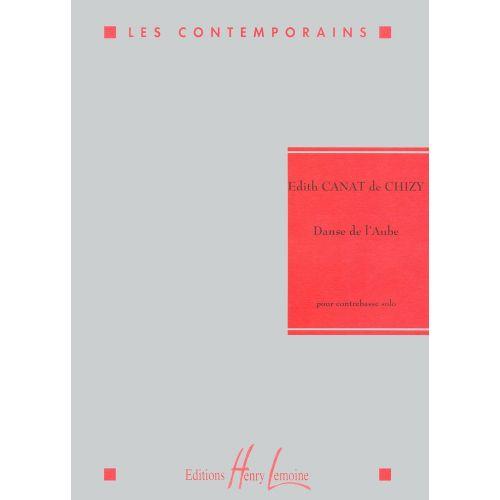 LEMOINE CANAT DE CHIZY E. - DANSE DE L'AUBE - CONTREBASSE SOLO