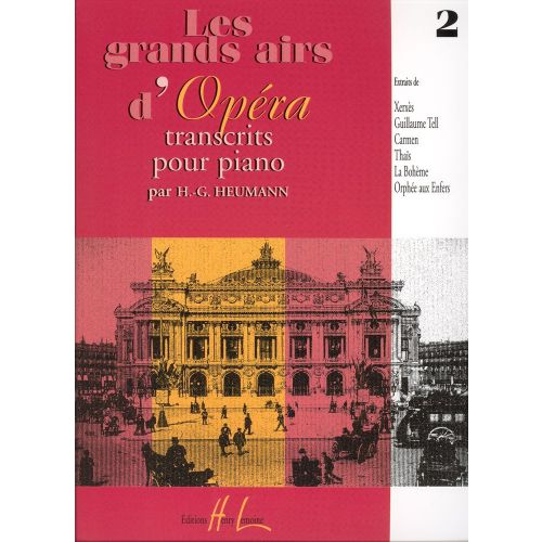 LEMOINE HEUMANN HANS-GÜNTER - GRANDS AIRS D'OPÉRA VOL.2 - PIANO