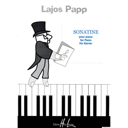 LEMOINE PAPP LAJOS - SONATINE - PIANO