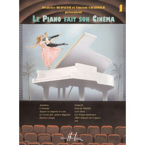 LEMOINE QUONIAM B. / CHARRIER V. - LE PIANO FAIT SON CINEMA VOL.1