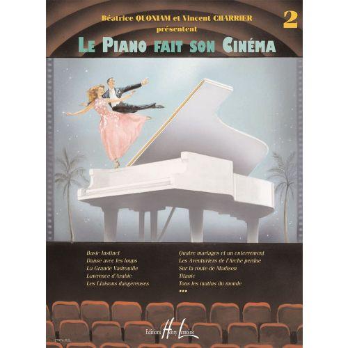 LEMOINE QUONIAM B. / CHARRIER V. - LE PIANO FAIT SON CINÉMA VOL.2