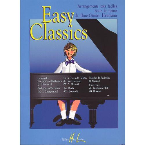 LEMOINE HEUMANN H.G. - EASY CLASSICS - PIANO