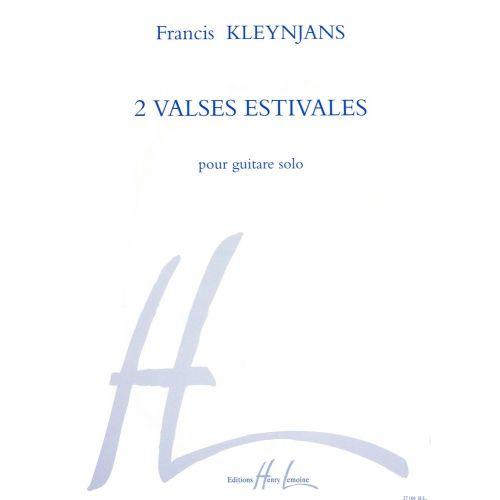LEMOINE KLEYNJANS F. - VALSES ESTIVALES (2) - GUITARE