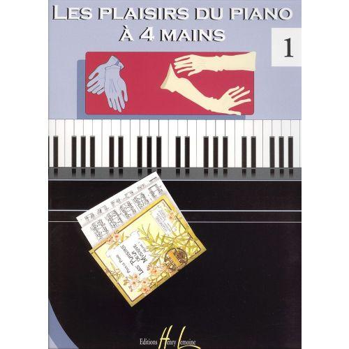 LEMOINE LES PLAISIRS DU PIANO À 4 MAINS VOL.1