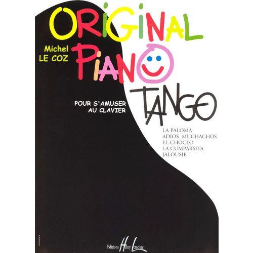 LEMOINE LE COZ MICHEL - ORIGINAL PIANO TANGO
