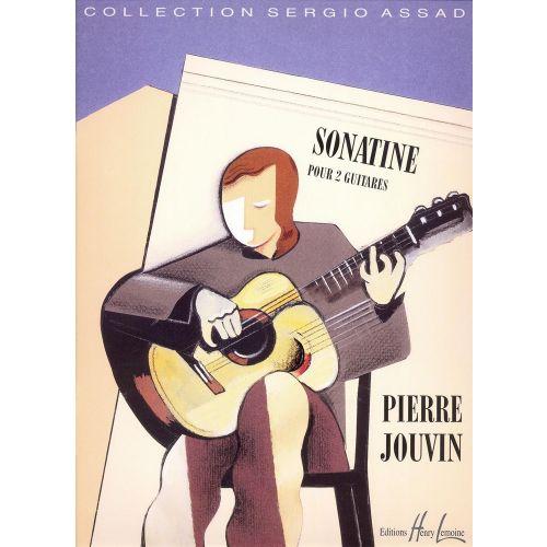 LEMOINE JOUVIN - SONATINE - 2 GUITARES