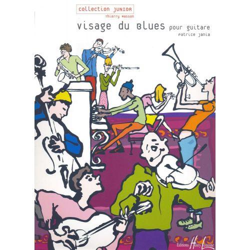 LEMOINE JANIA PATRICE - VISAGE DU BLUES - GUITARE