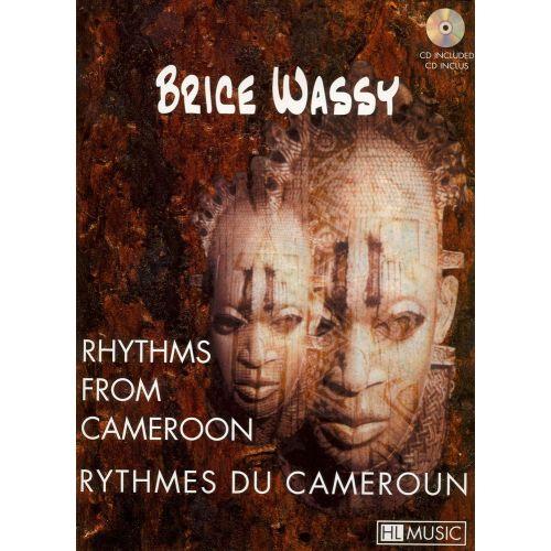 LEMOINE WASSY BRICE - RYTHMES DU CAMEROUN + CD - BATTERIE