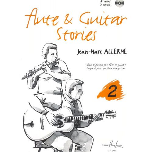 LEMOINE ALLERME JEAN-MARC - FLUTE AND GUITAR STORIES VOL.2 + CD - FLUTE, GUITARE