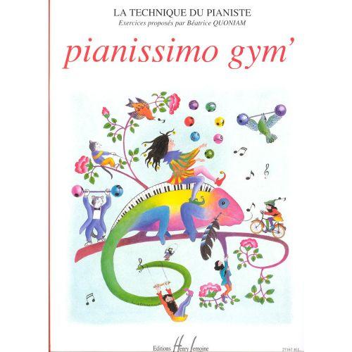 LEMOINE QUONIAM BÉATRICE - PIANISSIMO GYM' - PIANO
