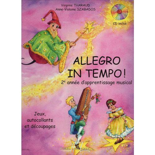 LEMOINE THARAUD V./ SZABADOS A.V. - ALLEGRO IN TEMPO + CD