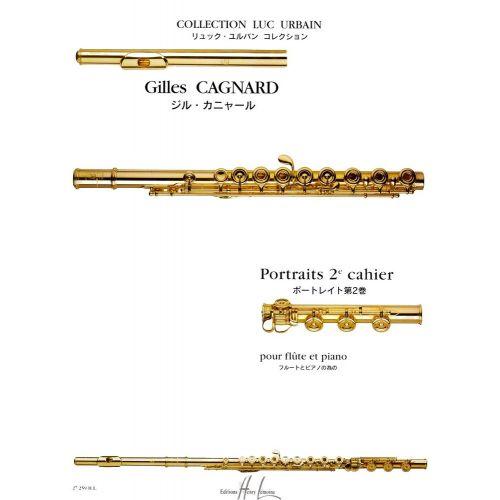 LEMOINE CAGNARD GILLES - PORTRAITS VOL.2 - FLUTE, PIANO