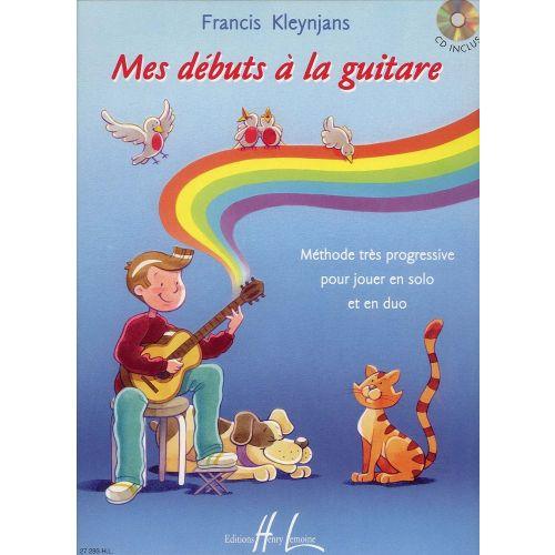 LEMOINE KLEYNJANS FRANCIS - MES DÉBUTS À LA GUITARE + CD