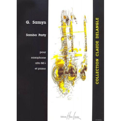 LEMOINE SAMYN GINO - SAMBA PARTY - SAXOPHONE, PIANO