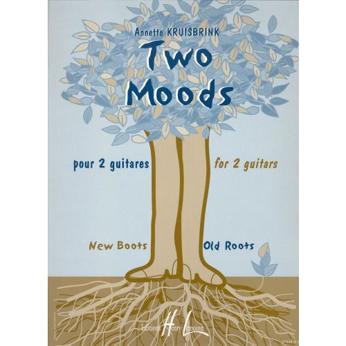 LEMOINE KRUISBRINK ANNETTE - TWO MOODS - 2 GUITARES