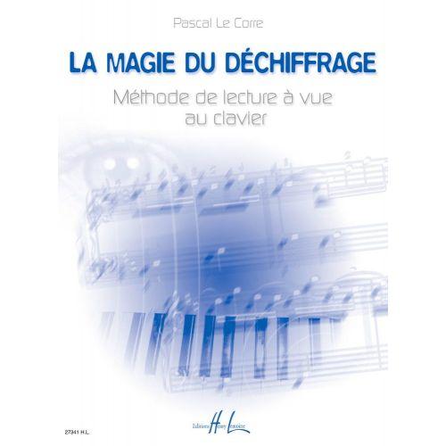 LEMOINE LE CORRE PASCAL - LA MAGIE DU DÉCHIFFRAGE - PIANO