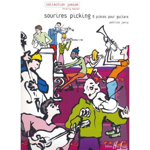 LEMOINE JANIA PATRICE - SOURIRES PICKING - GUITARE