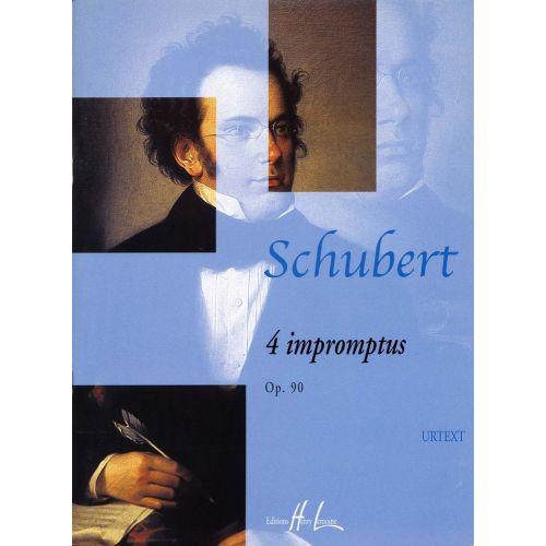 LEMOINE SCHUBERT F. - IMPROMPTUS OP.90 (4) - PIANO