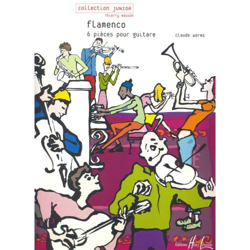 LEMOINE WORMS CLAUDE - FLAMENCO - GUITARE
