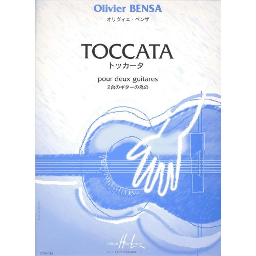 LEMOINE BENSA OLIVIER - TOCCATA - 2 GUITARES