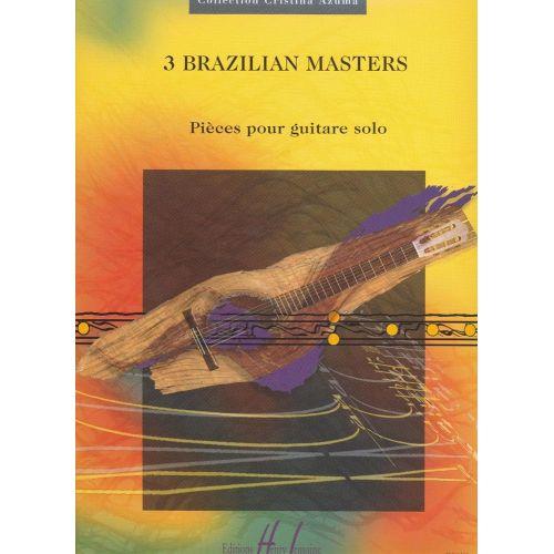 LEMOINE COSTA H./ MACHADO C./ NOGUEIRA P. - BRAZILIAN MASTERS (3) - GUITARE