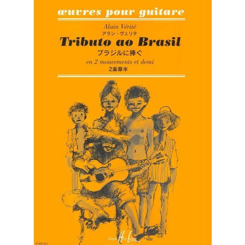 LEMOINE VERITE ALAIN - TRIBUTO AO BRASIL - GUITARE