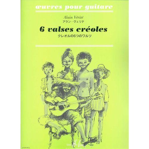 LEMOINE VERITE ALAIN - VALSES CREOLES - GUITARE