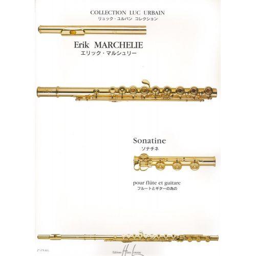 LEMOINE MARCHELIE ERIK - SONATINE - FLUTE, GUITARE