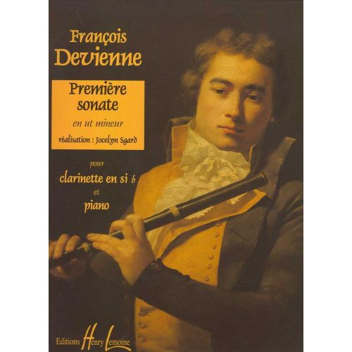 LEMOINE DEVIENNE FRANCOIS - SONATE N°1 + CD - CLARINETTE, PIANO