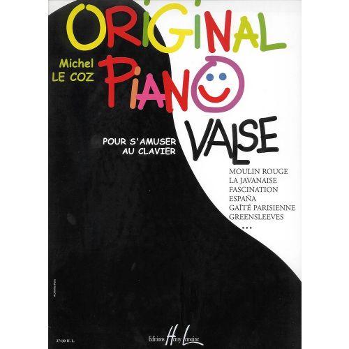 LEMOINE LE COZ MICHEL - ORIGINAL PIANO VALSE - PIANO