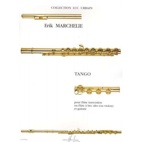 LEMOINE MARCHELIE ERIK - TANGO - FLUTE (OU FLUTE A BEC ALTO OU VIOLON), GUITARE