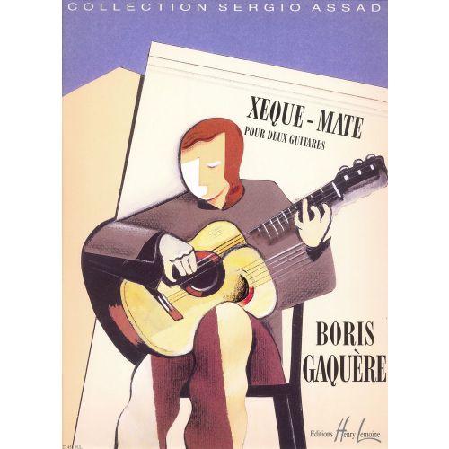 LEMOINE GAQUERE BORIS - XEQUE-MATE - 2 GUITARES