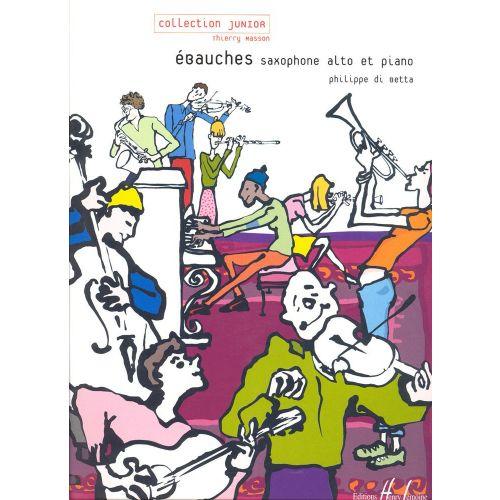 LEMOINE DI BETTA PHILIPPE - EBAUCHES - SAXOPHONE, PIANO