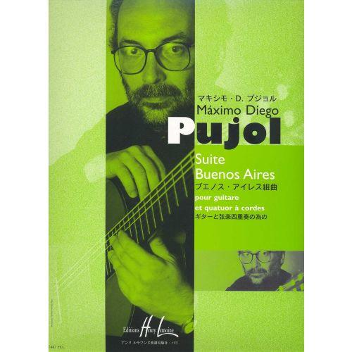 LEMOINE PUJOL MAXIMO-DIEGO - SUITE BUENOS AIRES - GUITARE, CORDES