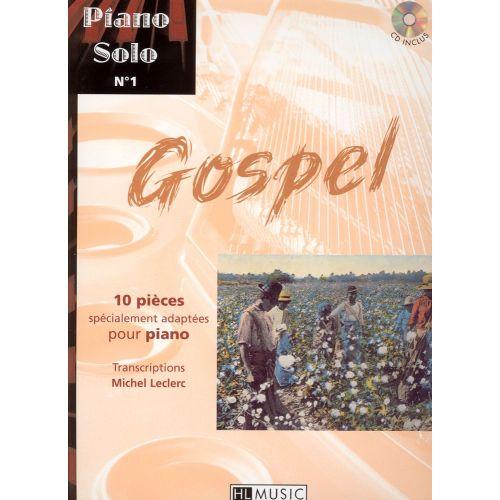 LEMOINE PIANO SOLO N°1 : GOSPEL + CD - PIANO