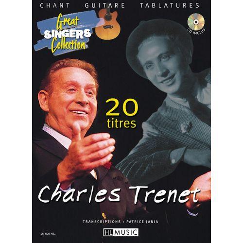 LEMOINE TRENET CHARLES - 20 TITRES + CD - CHANT, GUITARE
