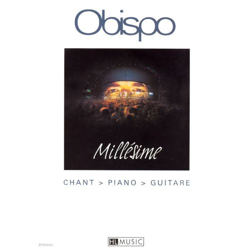 LEMOINE OBISPO PASCAL - MILLESIME - CHANT, PIANO