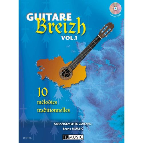 LEMOINE MURSIC BRUNO - GUITARE BREIZH VOL.1 + CD - GUITARE
