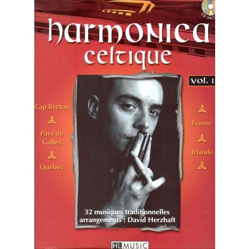 LEMOINE HERZHAFT DAVID - HARMONICA CELTIQUE VOL.1 + CD - HARMONICA