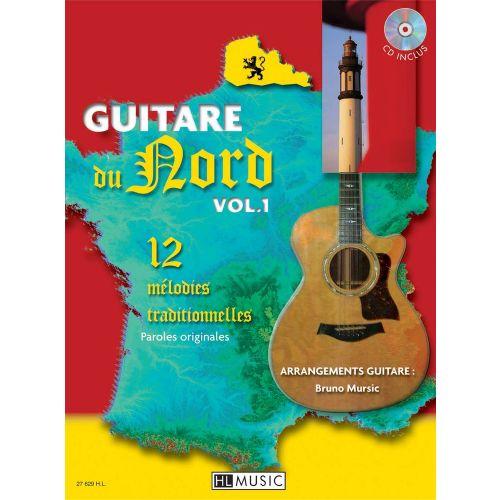LEMOINE MURSIC BRUNO - GUITARE DU NORD + CD