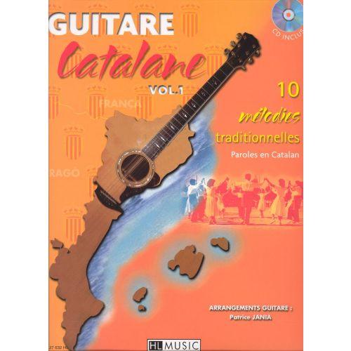 LEMOINE JANIA PATRICE - GUITARE CATALANE + CD - GUITARE